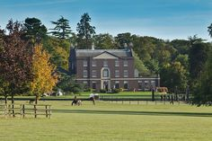 This eight-bedroom house near Cambridge, built in 1786 and extended in 1870, is part of a historic racehorse-breeding estate with a show-jumping arena, stud and other equestrian facilities.