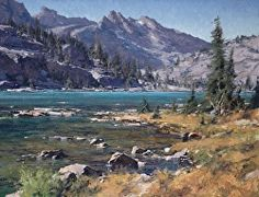 """Sailor Lake Shoreline"" by Matt Smith Oil ~ 20 x 26                                                                                                                                                                                 More"