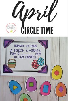 Easter Circle Time Preschool