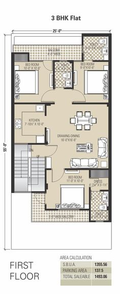 Floor Plan - Anukriti Builders & Developers - The Empyrean Township at Jaisinghpura, Ajmer Road, Jaipur |