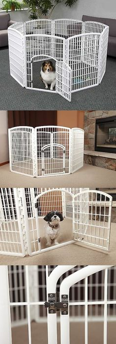 Fences And Exercise Pens 20748 24 32 40 48 8 Panel Heavy Duty Pet