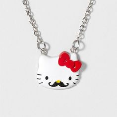 I love Hello Kitty, and I love mustaches! Well, guess what? They came together. I have to buy this.