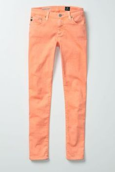 peach colored jeans- YES please :)