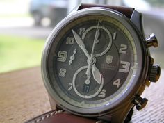 1498a3e0b18 Watch Reviews by MCV  Review of Victorinox Swiss Army Infantry Vintage  Mechanical Chronograph