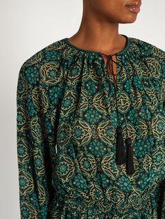 Indra silk-crepe dress | Talitha | MATCHESFASHION.COM