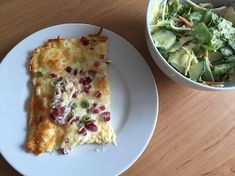 Low Carb Rezepte: Low Carb Keto Flammkuchen ca. 6 g Kohlenhydrate (ohne Mehl, low carb und keto geeignet)