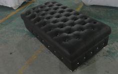 Мебель для гостиной красный кожа стула с кристально buttoms гостиной кожаный пуфик длинное размер