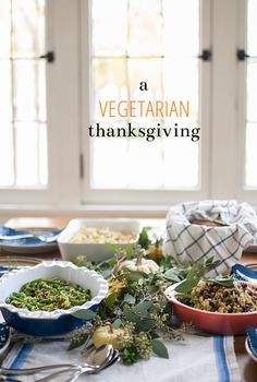 vegetarian thanksgiving recipes | Inspired to Share