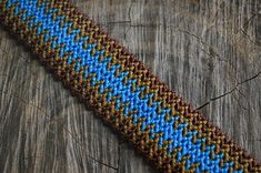 Unisex macrame cuff bracelet