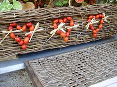 Fall Decor, Basket, Autumn, Vegetables, Garden, Flowers, Christmas, Handmade, Food