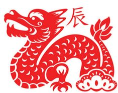 Year of the Dragon paper cut  http://www.activityvillage.co.uk/chinese_paper_cuts.htm#