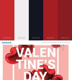 Color palette inspiration for WordPress and web design