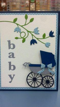 Memory box baby card