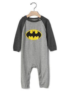 Batman Sweater One Piece - 6-12 mo