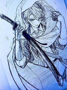 Anime Drawings Sketches, Art Drawings, Boys Anime, Touken Ranbu, Naruto, Anime Art, Twitter, Germany And Italy, Sapphire