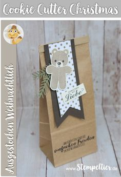 cookie cutter christmas ausgestochen weihnachtlich sneak preview Winterkatalog 2016 stampin up vom stempeltier teddy bear