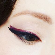 Mixing Up the Cat Eyeliner with Fall Colors Hair And Makeup Tips, Beauty Makeup, Hair Makeup, Cat Eyeliner, How To Apply Eyeliner, Mirror Mirror, Vintage Hairstyles, Pinup, Bobby Pins