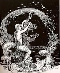 vintage mermaid graphic - Google Search