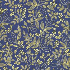 Les Fleurs Cotton Quilting Fabric Collection from ConnectingThreads.com