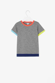 Contrast edge t-shirt #cos #kids