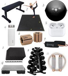 Home Gym Basement, Home Gym Garage, Diy Home Gym, Gym Room At Home, Home Gym Decor, Best Home Gym, Workout Room Home, Workout Rooms, Workout Room Decor