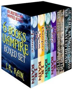 6-Book Vampire Boxed Set (Samantha Moon/Spinoza)