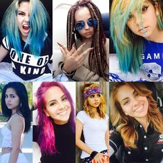 """B E L L A  — sc: morbid.bella (@painful_universe) on Instagram: """"Which hairstyle/color rocked best?"""""""