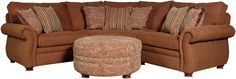 Mayo 5900 3 Piece Traditional Sectional Sofa with Spool Legs at Olinde's Furniture  http://www.olindes.com/Item_Olindes_Furniture_201096504~5900-045+070+044.aspx