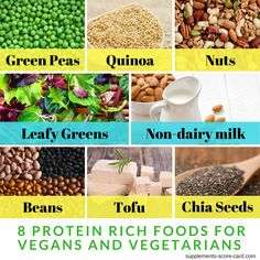 Proteins break down amino acids that support cell growth and cell repair, which is why they're regarded as the building blocks of life. Read all in the artcile. Vegetarian Types, Vegetarian Recipes, Health Articles, Health Tips, Cell Growth, Protein Rich Foods, Food Facts, Healthy Life
