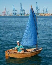 DIY take on an Optimist Sailing Dinghy
