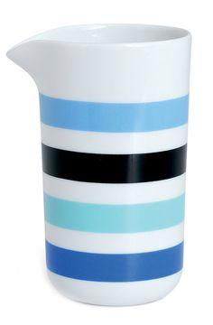 Ribbon Stripe Milk Pitcher