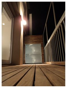 Deck Vicente Lopez Deck, Stairs, Exterior, Lighting, Home Decor, Stairway, Decoration Home, Room Decor, Front Porches