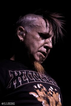 HELLYEAH!  Chad Gray in deep thought