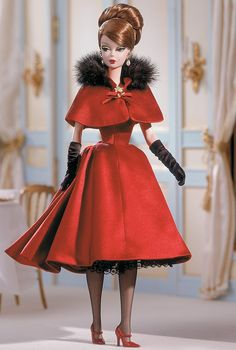 Ravishing in Rouge Barbie Doll - Silkstone - 2001 Fashion Model Collection - Barbie Collector