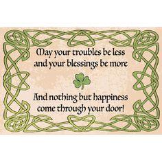 Irish Fest, Irish Blessing, Irish Prayer, Tea Party Invitations, Felted Wool Crafts, Irish Quotes, Quilt Labels, Black Rug, Green Cream