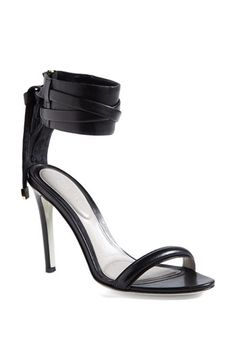 Jason Wu Ankle Strap Sandal available at #Nordstrom Would love these in black and white. I'll keep dreaming about them lol!