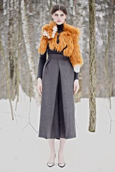 Vika Gazinskaya | Fall 2013 Ready-to-Wear Collection | Style.com