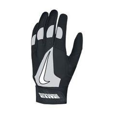 The Nike Diamond Elite Pro Baseball Batting Gloves.