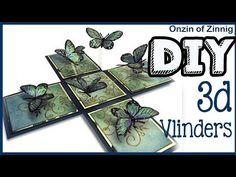 DIY 3D Plastic Fles Vlinder WELKE ONZIN OF ZINNIG #16 ✿Craftmama - YouTube