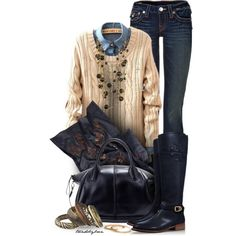 Designer Clothes, Shoes & Bags for Women Fashion Story, I Love Fashion, Women's Fashion, Autumn Winter Fashion, Autumn Fashion, Fashion Statements, Girls Jeans, Winter Clothes, My Wardrobe
