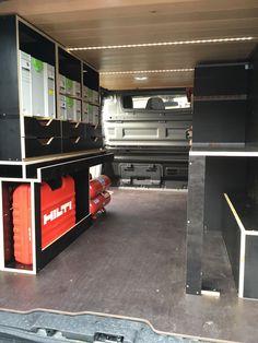 2016 Renault Trafic Carpentry van shelving