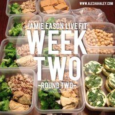 Jamie Eason Live Fit - Week 2 - Round 2