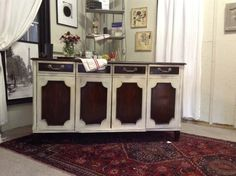 Antiqued Credenza $499 - Barrie http://furnishly.com/catalog/product/view/id/5955/s/antiqued-credenza/