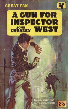 A Gun For Inspector West by John Creasey