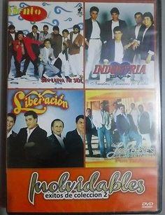 DVD 100 video Musicales Grupo Liberacion, Vieto, Industria del Amor,Los Rehenes
