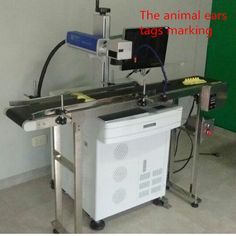 OEM Maxphotonics Fiber Laser Pet <font><b>Id</b></font> Tag Engraving Machine