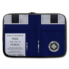 Sleeve for 10  10.1  Laptop Doctor Who Tardis
