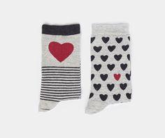 Pack calzini cuore - OYSHO
