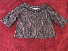 Moth Anthropologie Pink Lace Lambs Wool Cardigan Women's Sz S* in Clothing, Shoes & Accessories, Women's Clothing, Sweaters | eBay