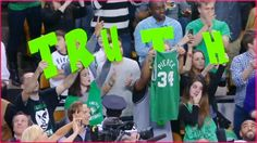 Thank you Paul Pierce! Bleed Green!  http://www.jeremylinfanshq.com